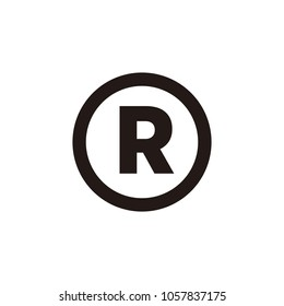 Registered trademark icon symbol