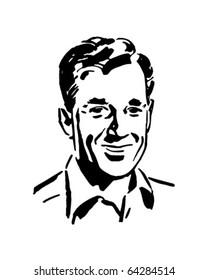 Regular Guy - Retro Clipart Illustration