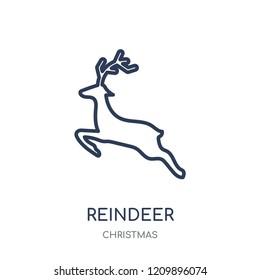 reindeer outline images stock photos vectors shutterstock