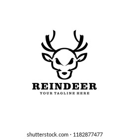 Reindeer Logo Template