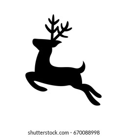 Reindeer Vector Icon
