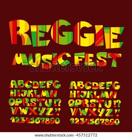 relax reggae music color
