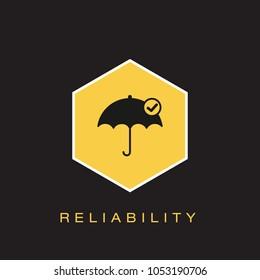 Reliability Icon Concept