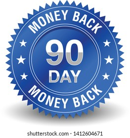 Reliable powerful 90 day money back guaranteed badge.
