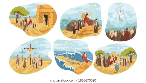 Religion, christianity, Bible set concept - Shutterstock ID 1865673520