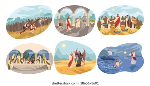 Religion, christianity, Bible set concept - Shutterstock ID 1865673691