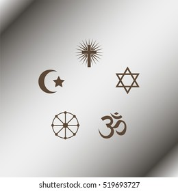 Religion signs.