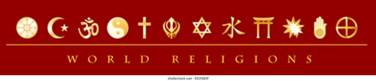 Religion Symbols Images Stock Photos Vectors Shutterstock