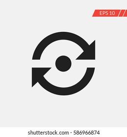 Reload vector icon