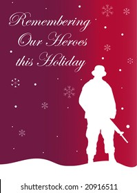 """""""Remembering Our Heroes"""" Holiday Card"""