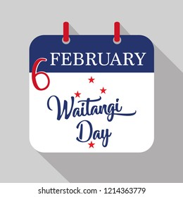 reminder about Waitangi Day , on February 6th - Waitangi Day is the national day of New Zealand