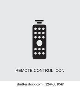 remote control icon. filled remote control icon from smarthome collection. Use for web, mobile, infographics and UI/UX elements. Trendy remote control icon.