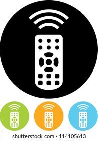 Remote control - Vector icon isolated