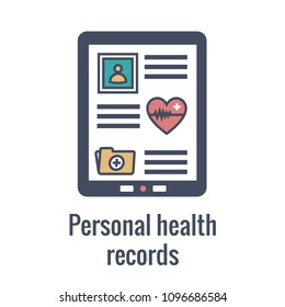 Remote Medical Record Access w EMR, PHR, EHR - stats, treatments, etc