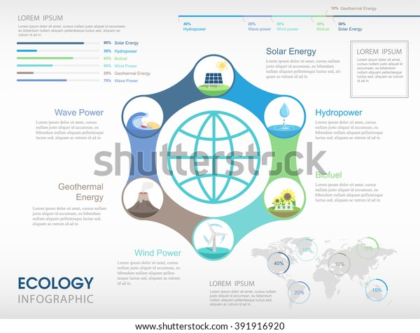 renewable-energy-infographics-background