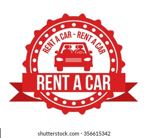 rent a car design, vector illustration eps10 graphic