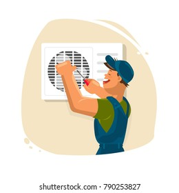 Repair of air conditioners. Maintenance and installation of cooling systems. Warranty repair and cleaning and replacement of filters. Professional Air Conditioner Repair. Installing splite sistem