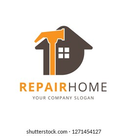 Repair Home Logo , Service House Logo