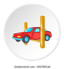 Repair machine icon. Cartoon illustration of repair machine vector icon for web