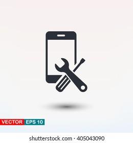 Repair phone icon
