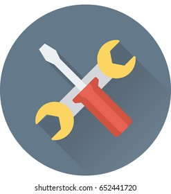 Repair Tools Vector Icon