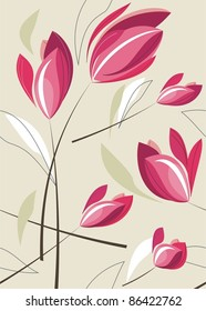 repeat tulip background