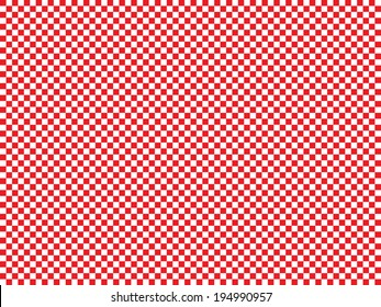 Repeating Chequered Pattern - EPS10 Vector