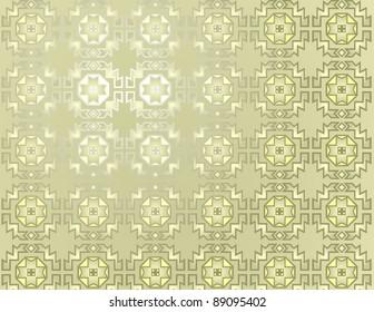 Repeating geometric pattern in beige.