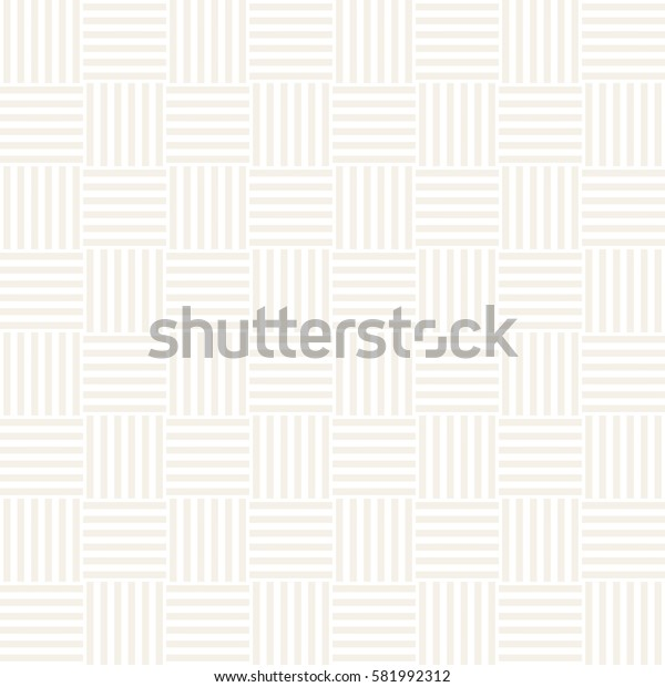 Repeating Geometric Stripes Tiling. Ornamental Stylish Texture. Vector Seamless Monochrome Pattern