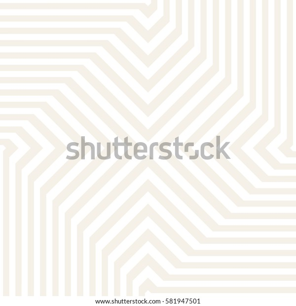 Repeating Geometric Stripes Tiling. Vector Seamless Monochrome Pattern