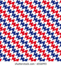 Repeating vector houndstooth pattern modern