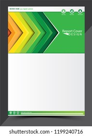 Report cover design