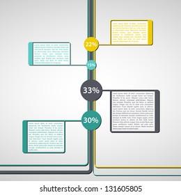 Representative Fraction / Infographics Element | EPS