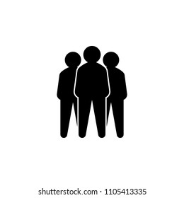 Representative of a group of people, leadership vector illustration concept. Leader vector icon. Leader single icon.