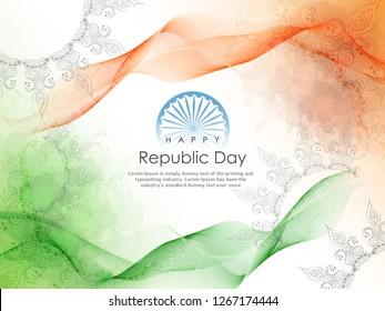 Republic Day Celebration, 26 January, Indian Flag