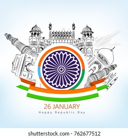 Republic Day  (Republic Day honours the date on which the Constitution of India)