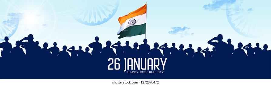 Republic Day India Celebration on 26 January