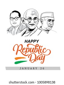 Republic day wish design