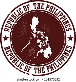 Republic of the Philippines Stamp