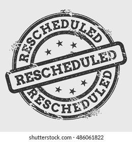 reschedule images stock photos vectors shutterstock