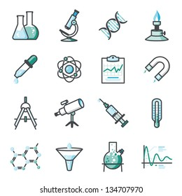 Research and Science Harmony series icons.