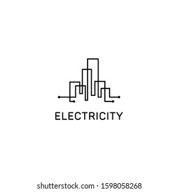 Resident City Logo Icon Design Template Elements