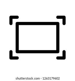 Resize icon. Image, view, custom size.