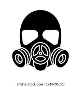 respirator icon. gas mask icon. vector illustration