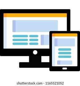 responsive web computer