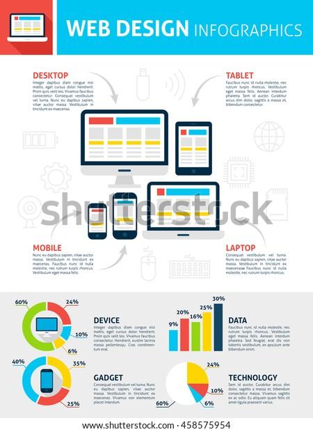 responsive-web-design-infographics-flat-