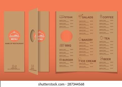 cafe menu images stock photos vectors shutterstock