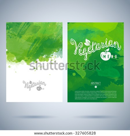 restaurant cafe vector menu cover template stock vector royalty