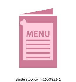 restaurant food menu, vector brochure template - lunch or dinner menu icon