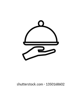 restaurant icon template
